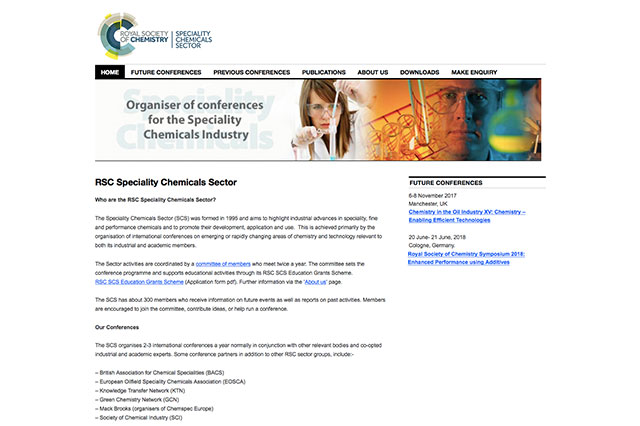 RSC Speciality Chemicals – MediaSpin